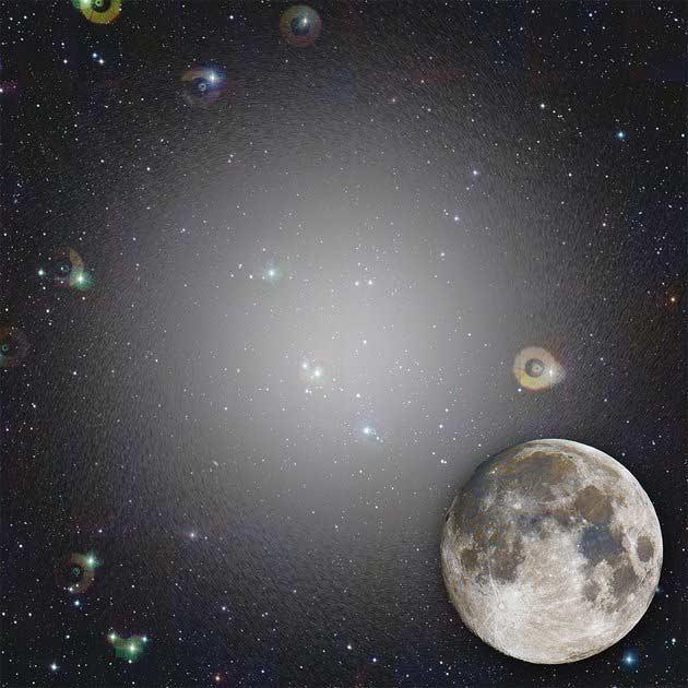 Ο Crater 2 σε συγκριση με τη Σελήνη