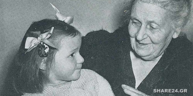 19 Συμβουλές της Μαρία Μοντεσσόρι για Όσους θέλουν να είναι καλοί Γονείς