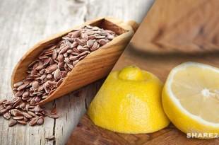 Πιείτε Λεμόνι με Λιναρόσπορο κάθε Πρωί για Αποτοξίνωση, Αντιμετώπιση του Διαβήτη και της Κυτταρίτιδας & Τόνωση του Μεταβολισμού!