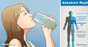 Πως να Φτιάξεις Αλκαλικό Νερό για να Αντιμετωπίσεις την Κόπωση, τα Πεπτικά Προβλήματα & για Πρόληψη Καρκίνου