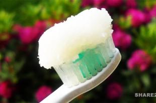 Κι όμως η Οδοντόκρεμα απο Λάδι Καρύδας Προστατεύει τα Δόντια Καλύτερα απο αυτές του Εμπορίου χωρίς τις Παρενέργειές τους