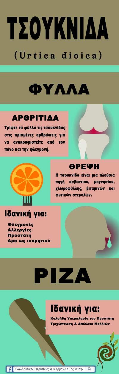 Τα οφέλη της τσουκνίδας για την υγεία μας