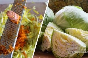 Δες τι θα γίνει στο Σώμα Σου αν Τρως Λάχανο Τουρσί με Κουρκουμά κάθε μέρα