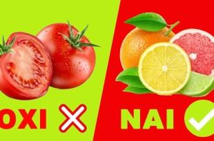 16 Τροφές που Πρέπει ή Δεν Πρέπει να Καταναλώνουμε με Άδειο Στομάχι
