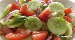 Γνωρίζατε ότι δεν πρέπει Ποτέ να τρώμε Αγγούρι και Τομάτα στην ίδια Σαλάτα; Διαβάστε τον Λόγο!