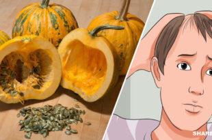 το Έλαιο Κολοκυθόσπορου προκαλεί Αύξηση Μαλλιών κατά 40% σε Όσους πάσχουν από Αλωπεκίαση
