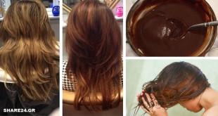 Βάψτε Τα Μαλλιά σας με Τσάι, Καφέ ή Καρυκεύματα με αυτούς του 3 τρόπους