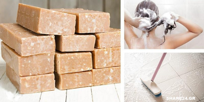 7 Χρήσεις του Σαπουνιού Καστίλλης (ή Μασσαλίας) σε Μαλλιά, Δόντια, Ρούχα και άλλού!