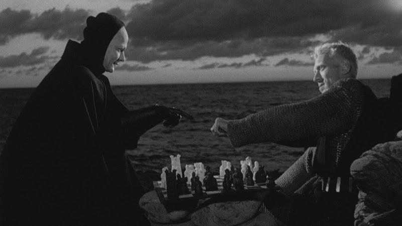 Στιγμιότυπο από την ταινία του Bergman: Η Έβδομη Σφραγίδα
