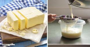 Πώς να Φτιάξετε Φρέσκο Bούτυρο με Aπλά Yλικά στο Mίξερ!