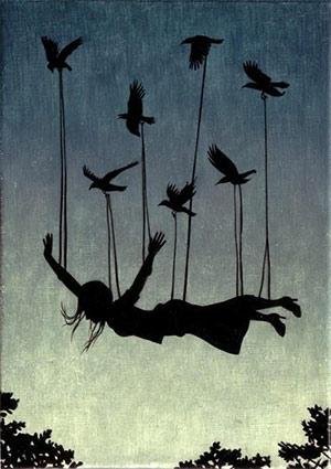 Η ελευθερία είναι πράξη τόλμης όπως το πέταγμα